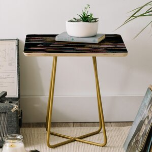 Khristian a Howell Studio 54 End Table by East Urban Home