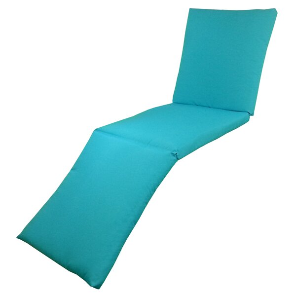 Oxford Indoor/Outdoor Chaise Lounge Cushion by Edie Inc.
