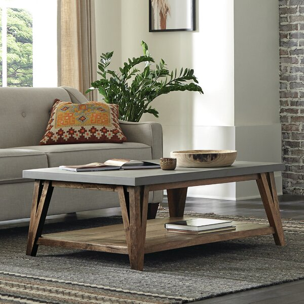 Crowell Coffee Table With Storage By Gracie Oaks