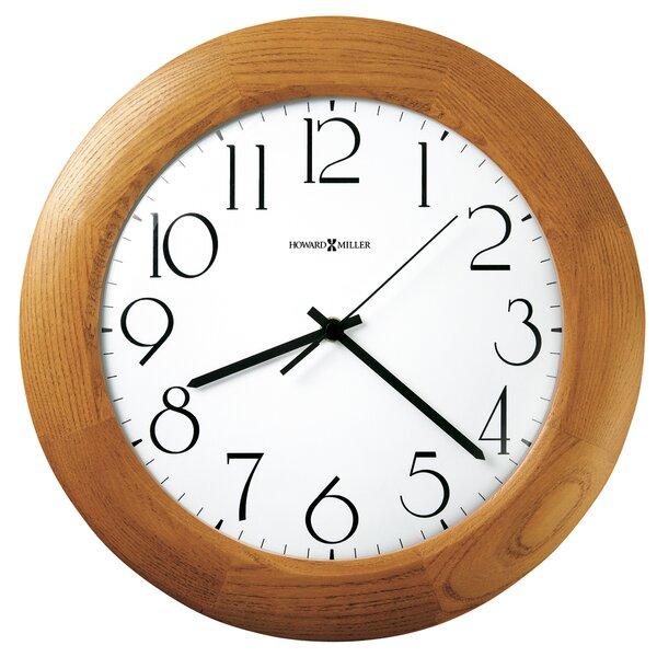 Santa Fe Quartz 12.75 Wall Clock by Howard Miller®