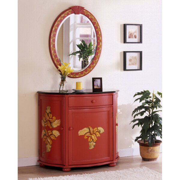 Spillane Hand-Painted Vanity with Mirror by Bay Is