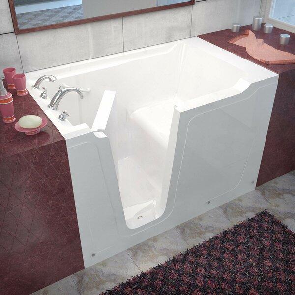 Crescendo 59.7 x 35.8 Soaking Bathtub by Therapeutic Tubs