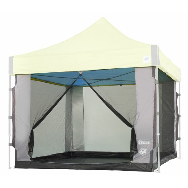 Cube Mesh 6 Person Tent with Carry Bag by E-Z UP