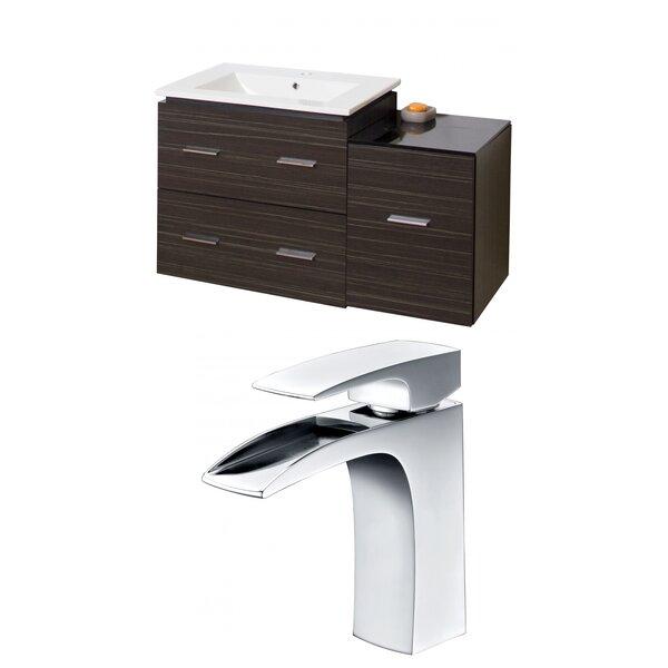 Alican 38 Wall-Mounted Single Bathroom Vanity Set