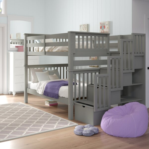 Tena Full Over Full Bunk Bed With Drawers By Harriet Bee by Harriet Bee Coupon