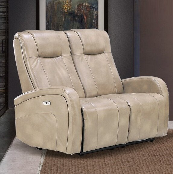 Shop For Stylishly Selected Hiller Reclining Loveseat by Winston Porter by Winston Porter