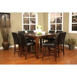Gentil Cameo 9 Piece Counter Height Pub Set. By American Heritage