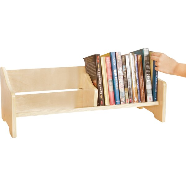 Tabletop 2 Compartment Book Display by Guidecraft