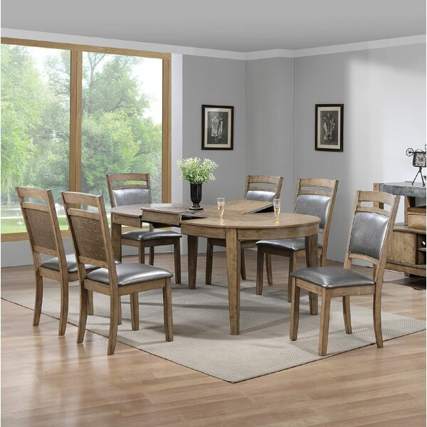 Timberville 7 Piece Dining Set by Millwood Pines