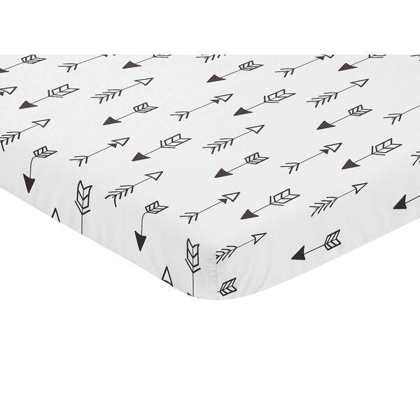 Arrow Fitted Crib Sheet by Sweet Jojo Designs