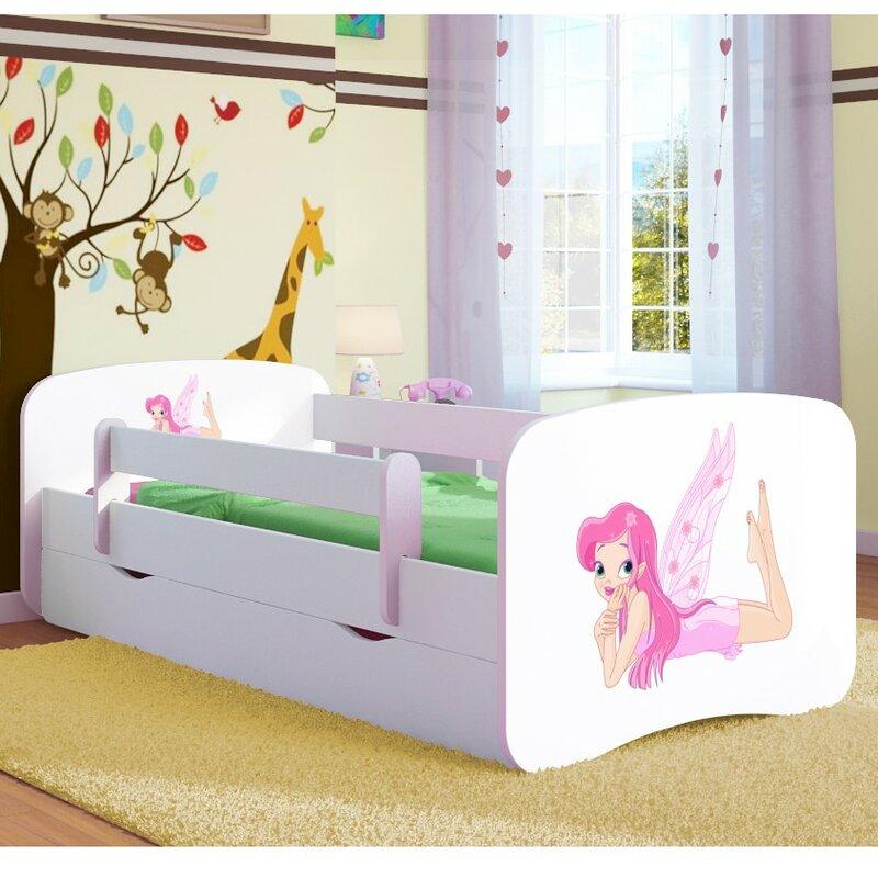 kocot kids kinderbett fairy mit matratze und schublade. Black Bedroom Furniture Sets. Home Design Ideas
