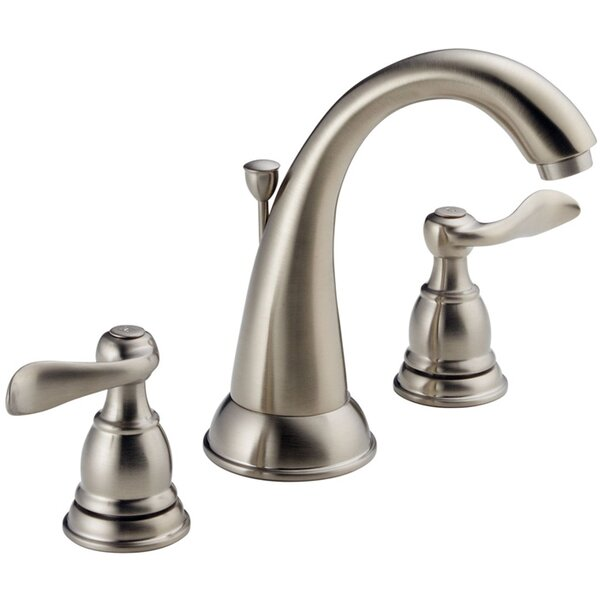 Windemere Widespread Bathroom Faucet With Drain Assembly By Delta.