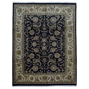 One-of-a-Kind Ballyclarc Hand Woven Wool Black/Gray Area Rug Isabelline