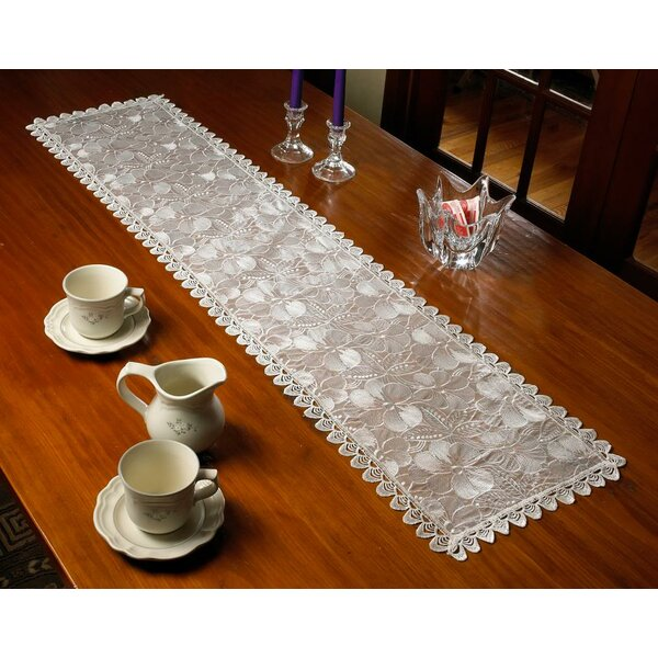 Crystal Lace Table Runner by Violet Linen