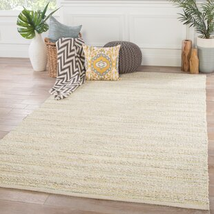 Dow Handwoven Flatweave Cream Area Rug by Bungalow Rose