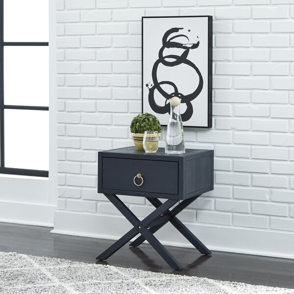 Review Nagle End Table With Storage