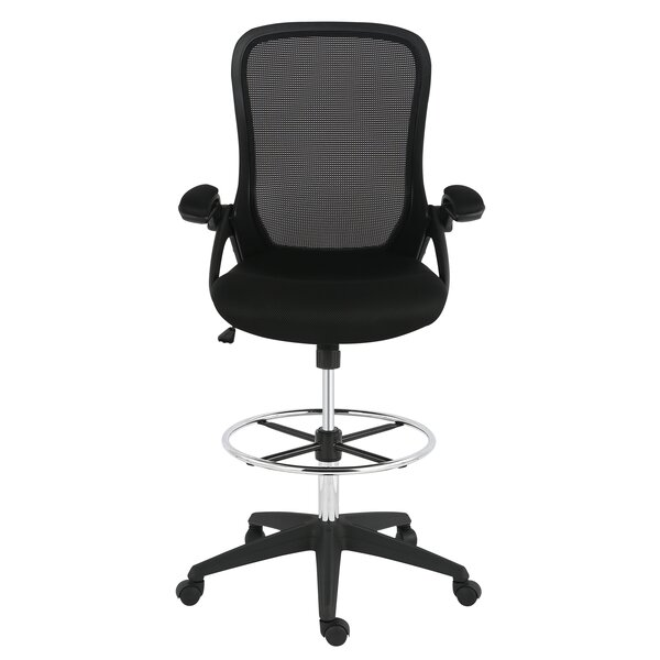 Labounty Mesh Drafting Chair by Symple Stuff