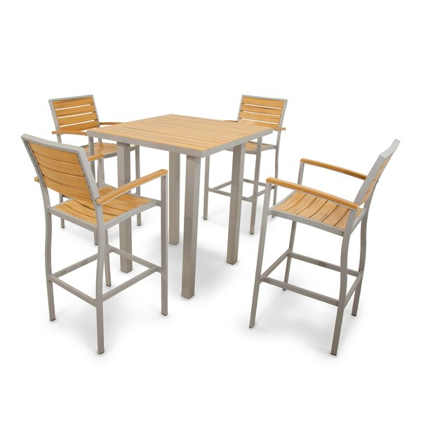 Loft 5-Piece Bar Set by Ivy Terrace