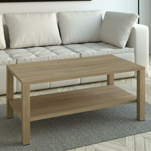 Bargain Rosamaria Wood Coffee Table by Highland Dunes