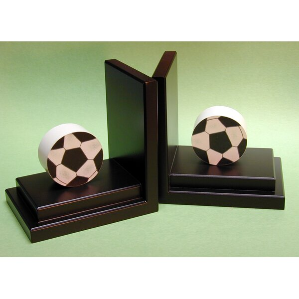 Soccer Book Ends (Set of 2) by One World