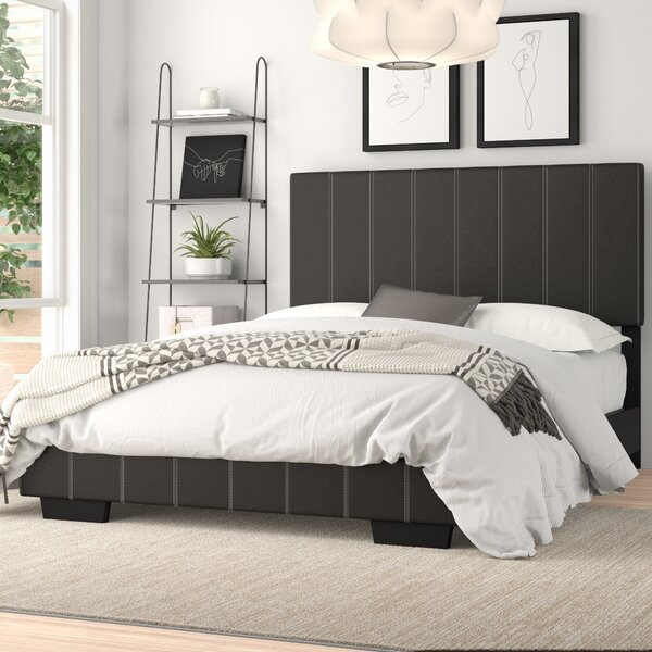 Yasmine Full/Double Upholstered Platform Bed by Zipcode Design