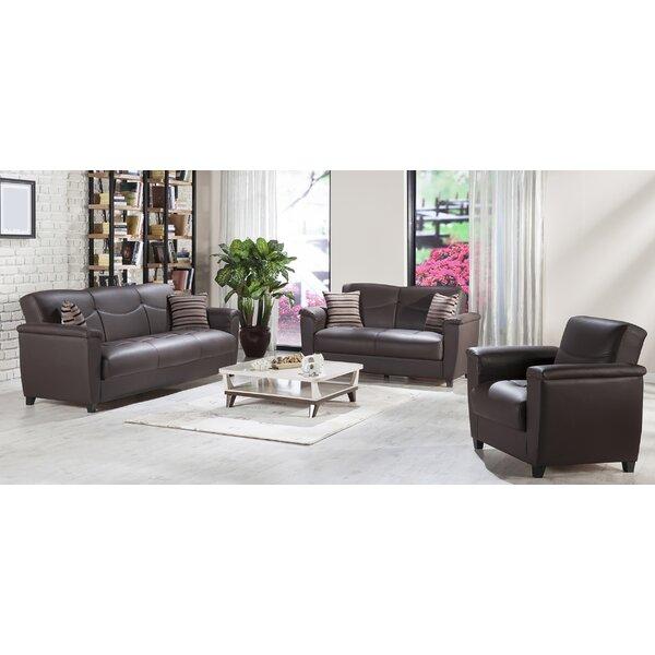 AlmedaCheatham Sleeper Configurable Living Room Set by Brayden Studio