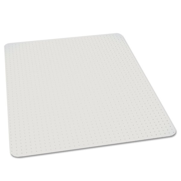Rectangle High Pile Carpet Beveled Chair Mat by ES Robbins Corporation