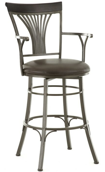 Karol 30\  Swivel Bar Stool  sc 1 st  Wayfair & Steve Silver Furniture Karol 30\