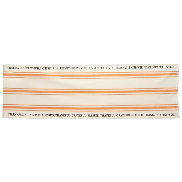 Thanksgiving Grainsack Table Runner by Mud Pie™