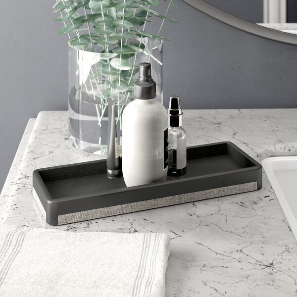 Turner Amenity Bathroom Accessory Tray by Wade Logan