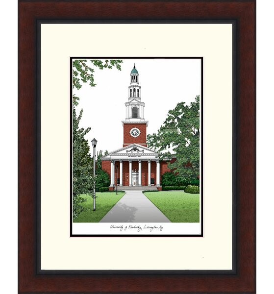 NCAA Legacy Alumnus Lithograph Picture Frame by Campus Images