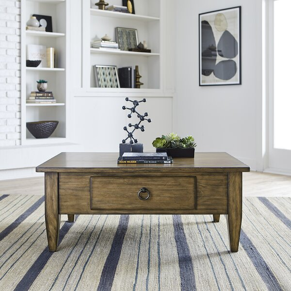 Spilsby Coffee Table With Storage By Loon Peak