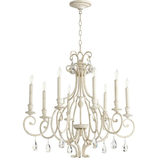 Richason 8 - Light Candle Style Empire Chandelier by Ophelia & Co. Ophelia & Co.