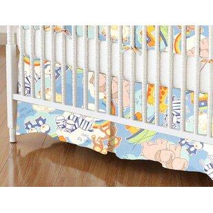 Budget Noahs Ark Crib Skirt BySheetworld