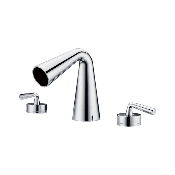 Waterfall Widespread Deck Mounted Bathroom Faucet By Alfi Brand