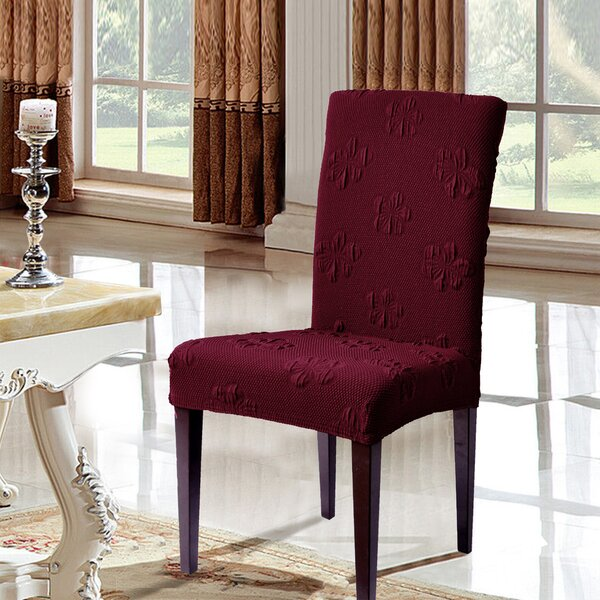 Box Cushion Dining Chair Slipcover (Set of 4) by subrtex