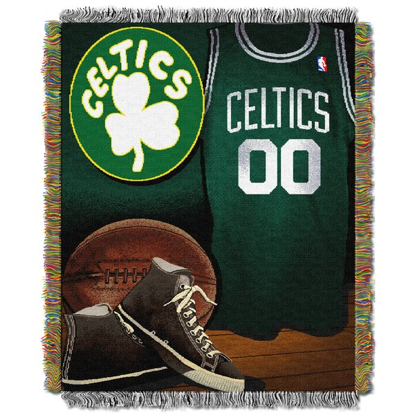 NBA Boston Celtics Tapestry Throw by Northwest Co.