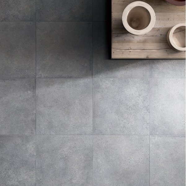 Nova Stone Series 12 x 24 Porcelain Field Tile in Gray by RD-TILE