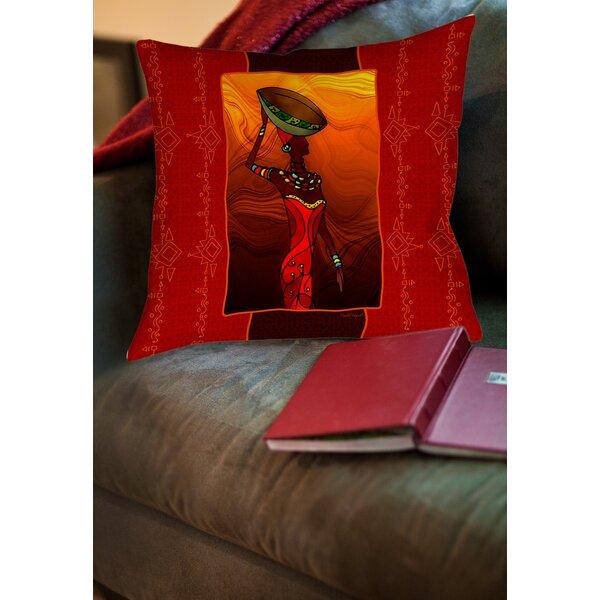 Sebrite Printed Throw Pillow by Bloomsbury Market