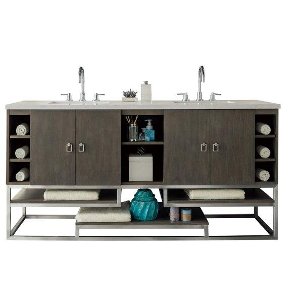 Arnolde 72 Double Bathroom Vanity Base Only