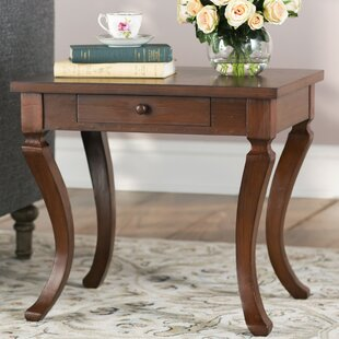 Clarksdale End Table with Storage