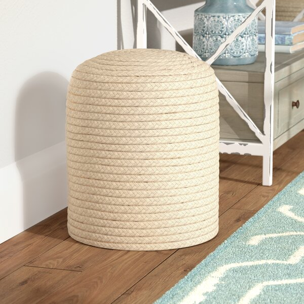 Chuckanut Pouf by Highland Dunes