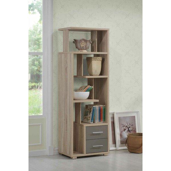 Gustavo Geometric Bookcase by Brayden Studio