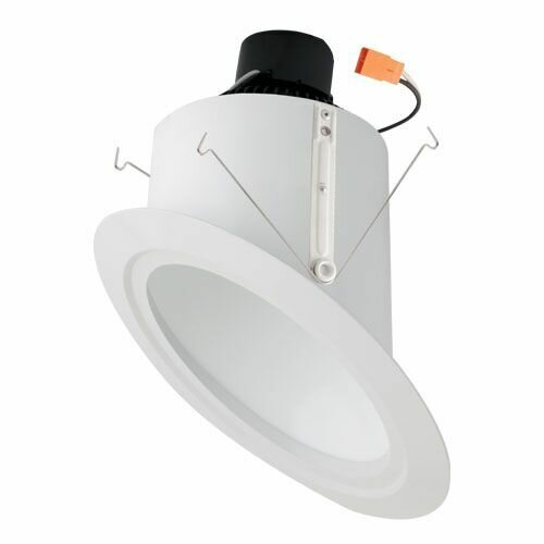 Super Sloped Ceiling Baffle Inserts 6 LED Recessed