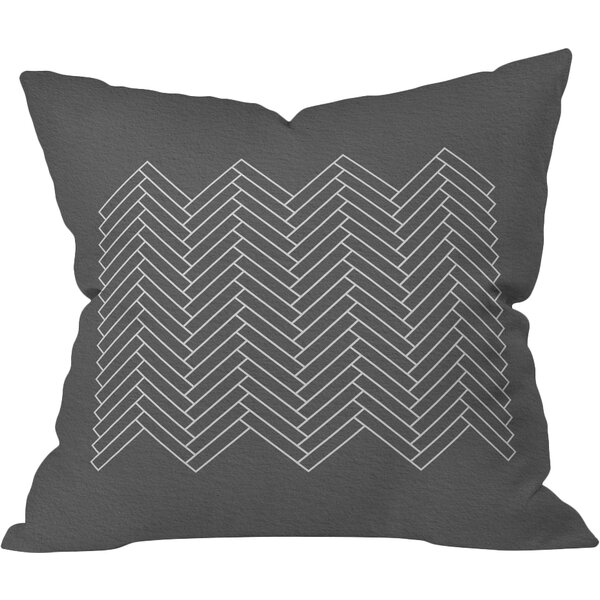 Holley Study IV Outdoor Throw Pillow by Bungalow Rose