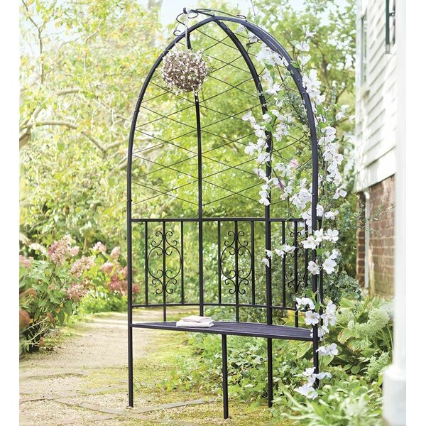 Montebello Garden Arbor with Bench by Plow & Hearth