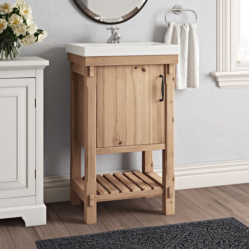 Whitten 20 Single Bathroom Vanity Set