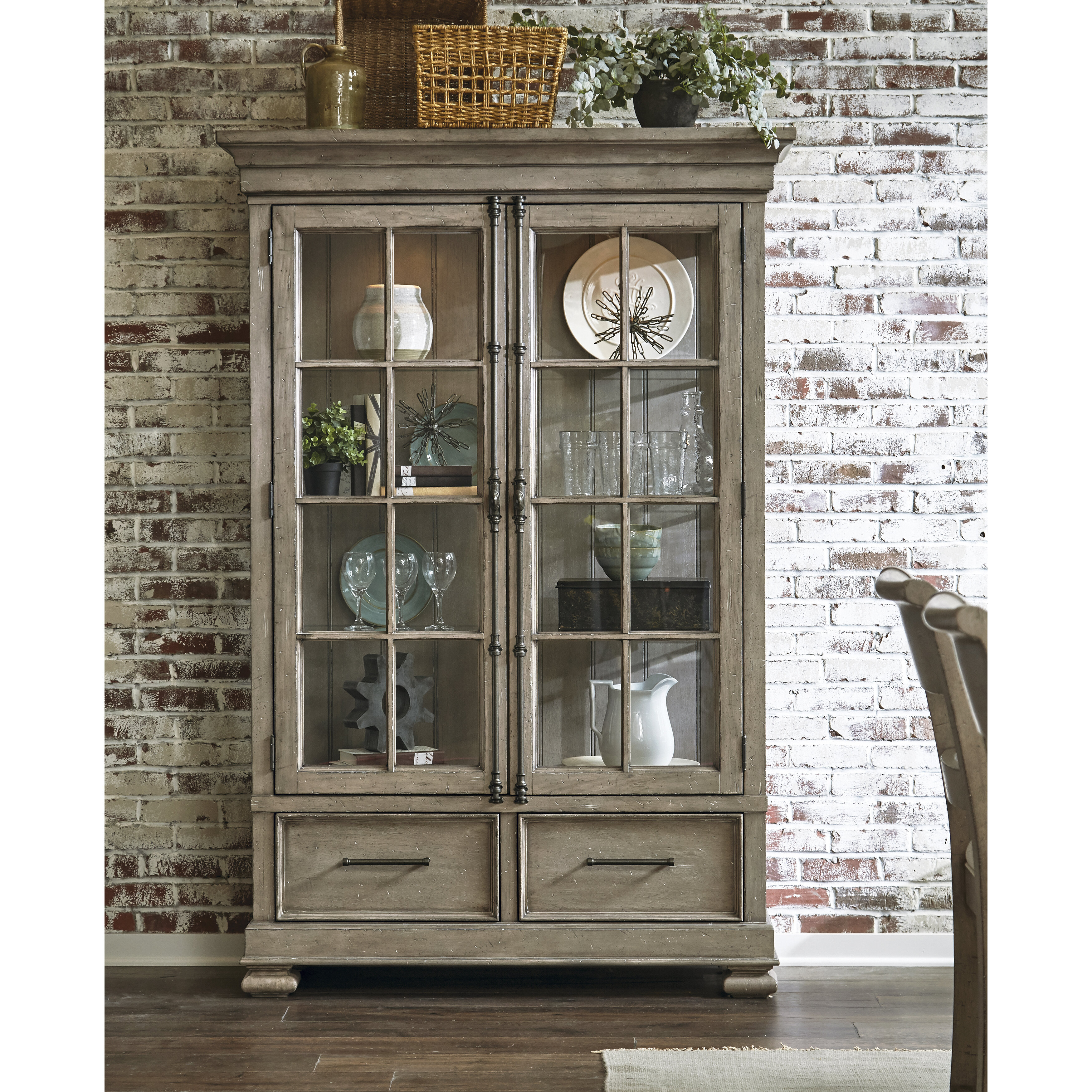 Devers Lighted China Cabinet Reviews
