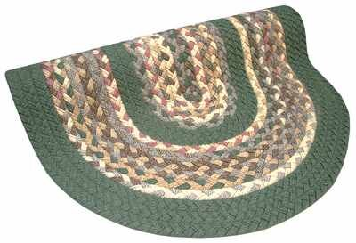 Minuteman Sage Green Solids with Mauve Accents Multi Runner Rug by Thorndike Mills
