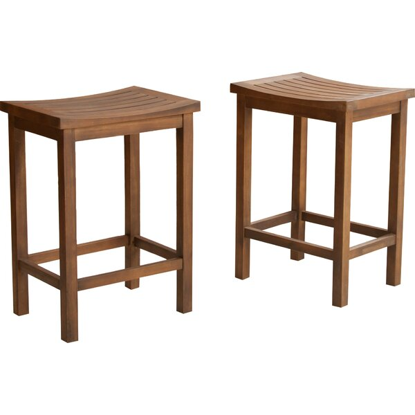 Struthers 24 Bar Stool (Set of 2) by Darby Home Co